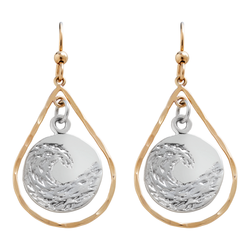 water screen fresh balaam shot stick earrings sterling silver at am pearl