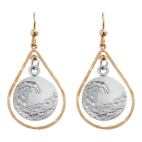 Earings-small-sterling-silver-circle-in-14k-gold-plated-tear-drop-01-1200