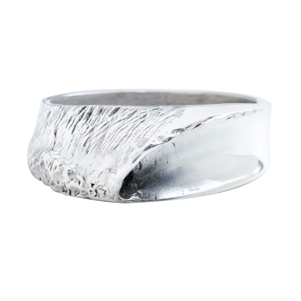 Indo Lefts in Sterling Silver Ring